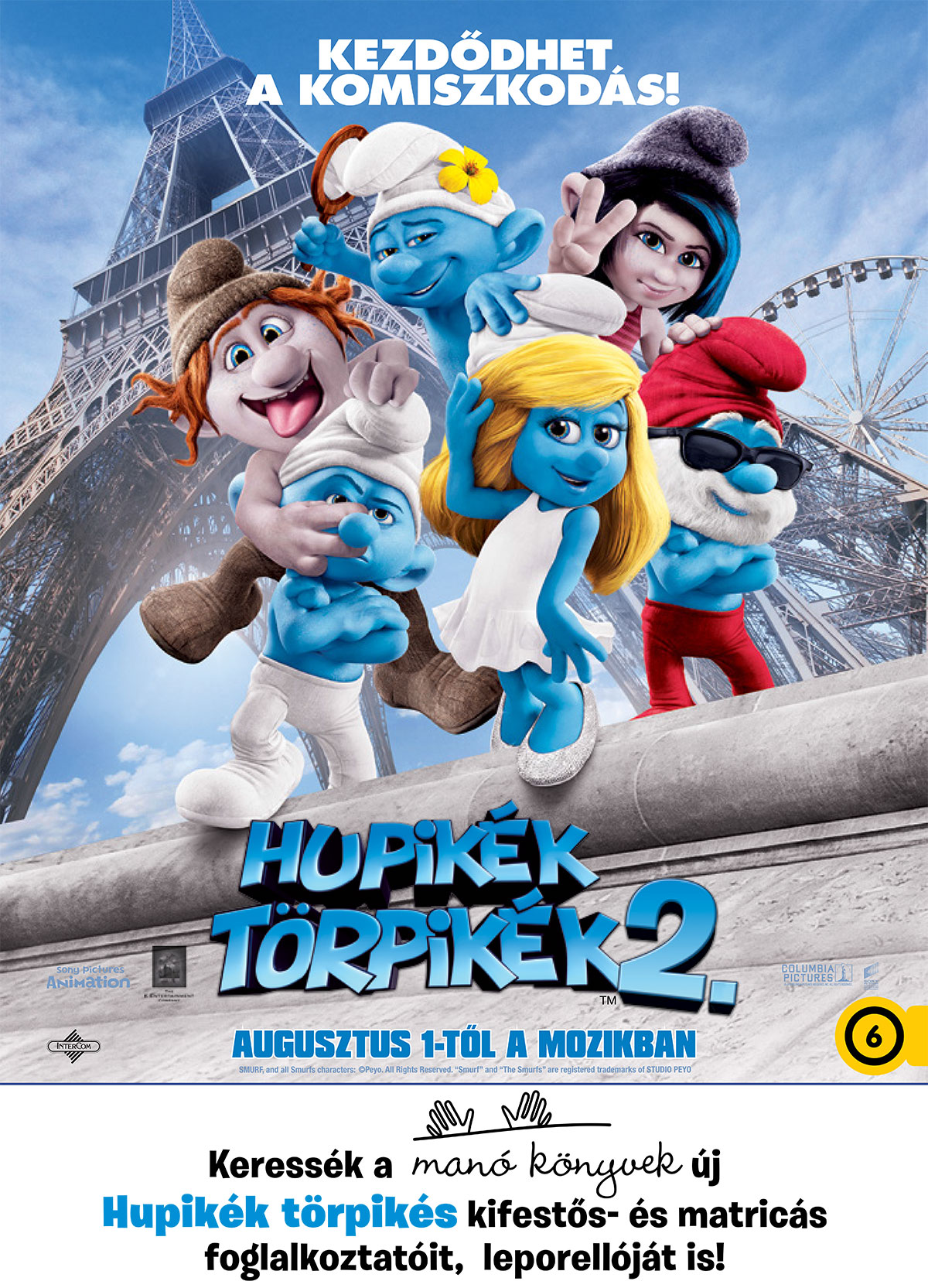Hupikék törpikék 2 (The Smurfs 2, 2012)